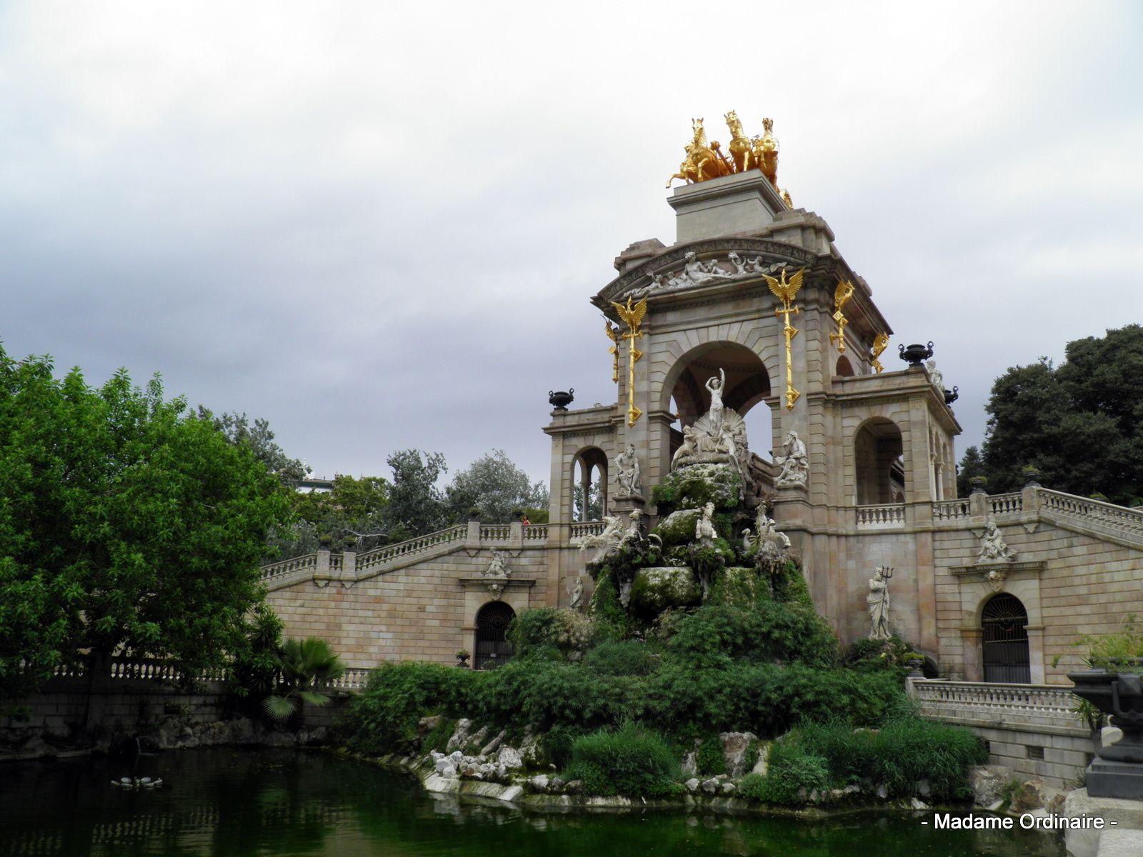 Le Parc de la Ciutadella à Barcelone
