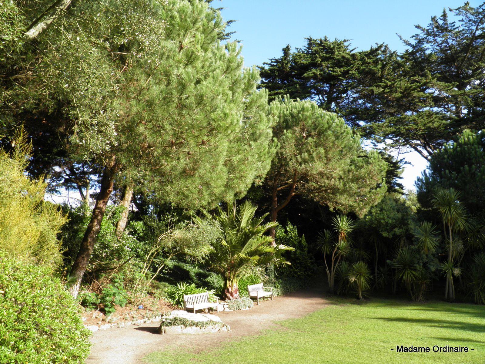 Le jardin Delaselle à l'île de Batz