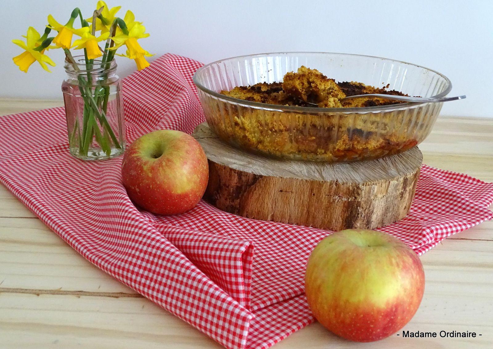 Gâteau fondant aux pommes et aux Traou Mad®