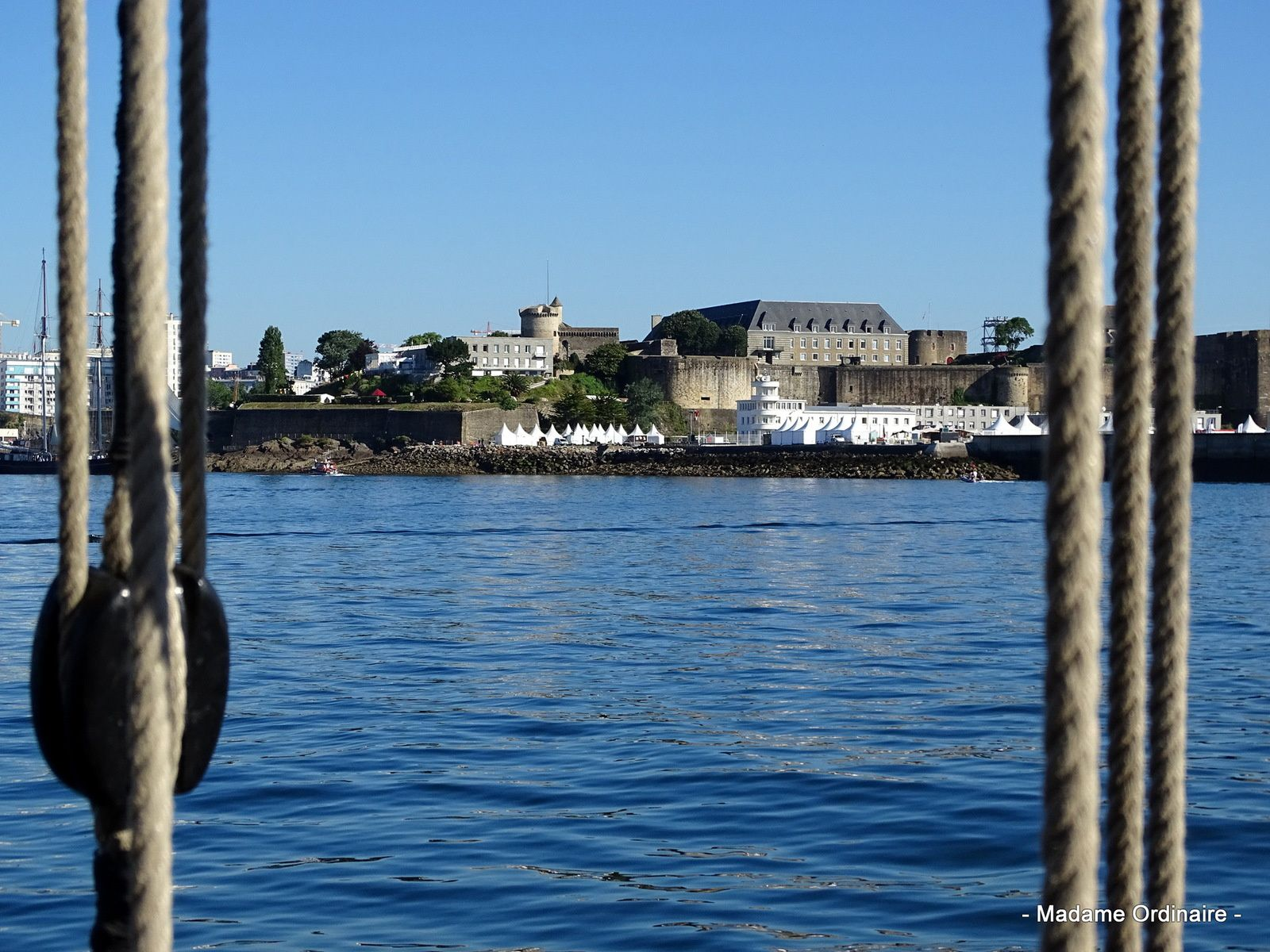 Brest 2016 à bord du Renard