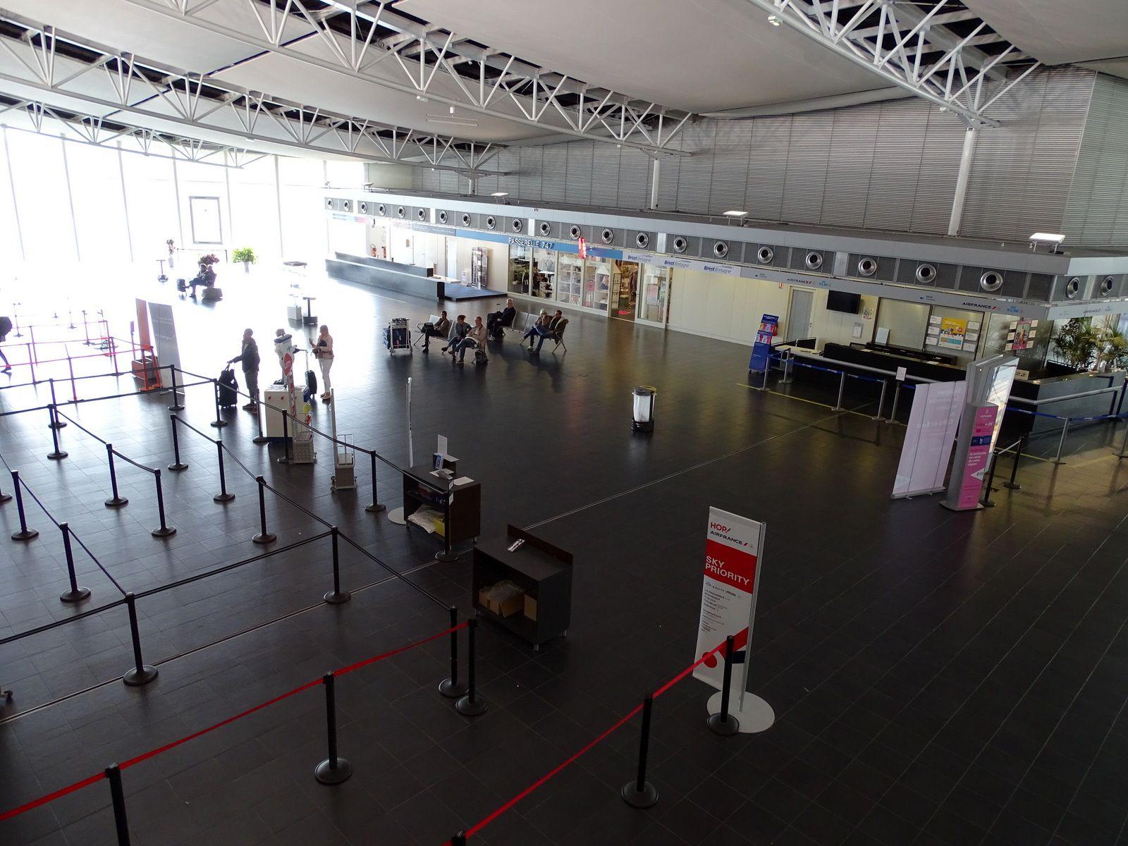L'aéroport de Brest Bretagne