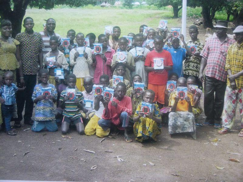 les lampes solaires pour le Togo