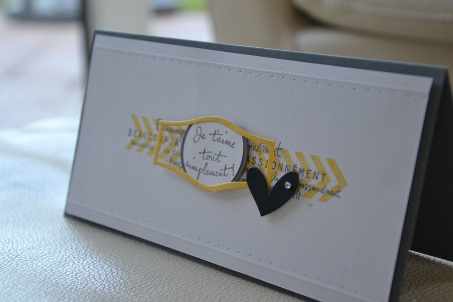 Worl card making day 2014: challenge Variations créatives