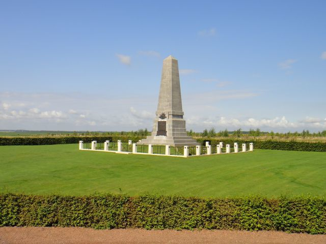 Mémorial britannique.