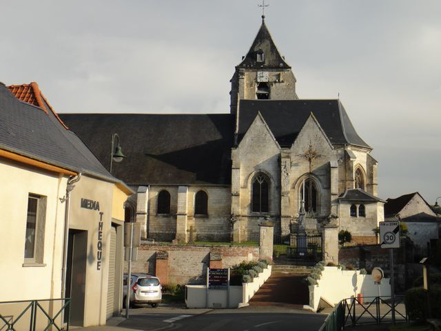 Eglise de Naours.