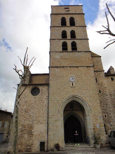 Eglise de Montolieu.