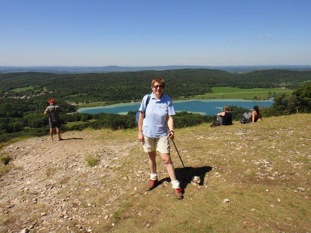 Et moi au Pic de l'Aigle.