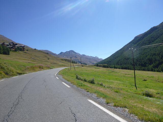 La route est superbe.