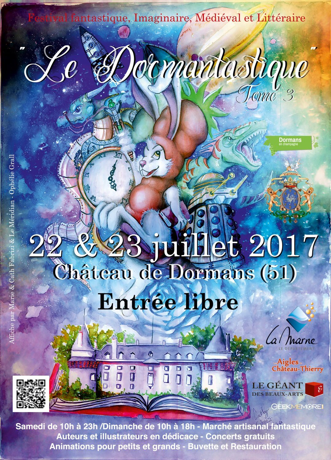 FESTIVAL FANTASTIQUE DE DORMANS 2017