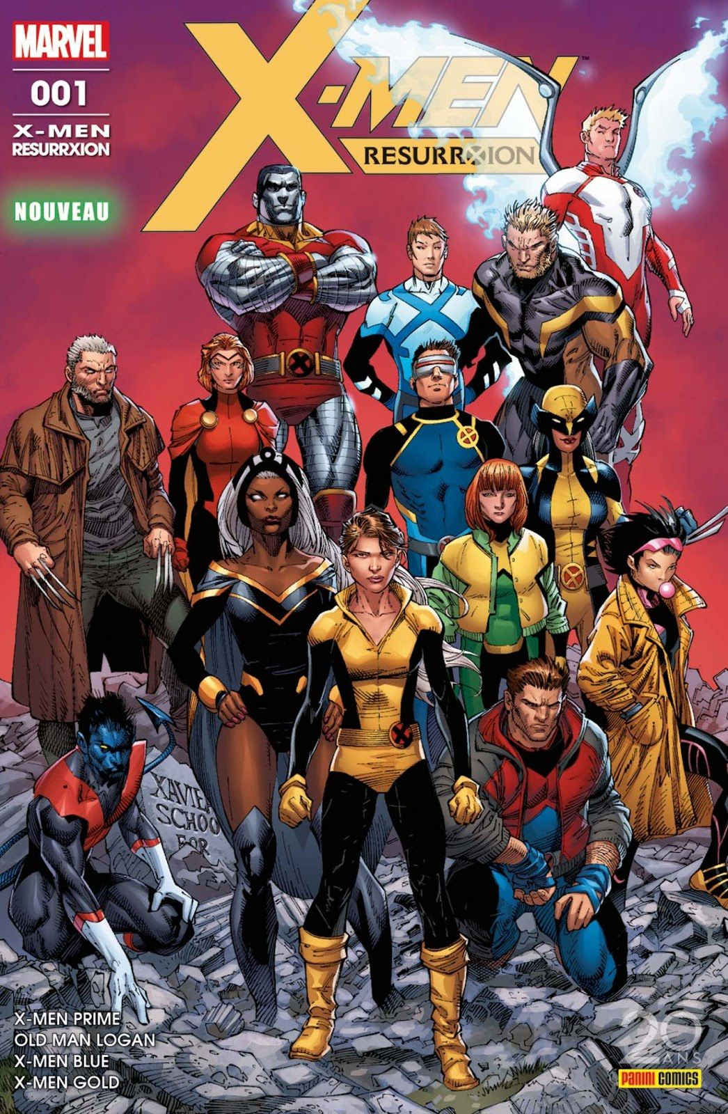 X Men Resurrxtion Retour Aux Sources De L Heroisme Le Blog De