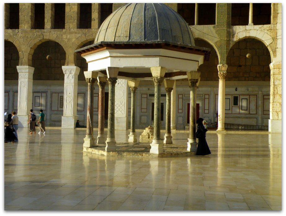 la grande mosquée de Damas et Rome