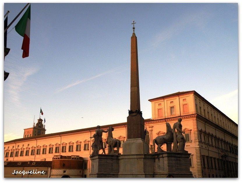 Rome est merveilleuse..
