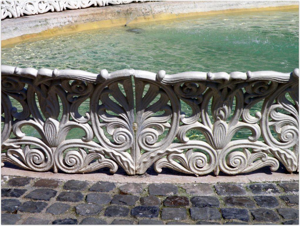 La fontaine en fonte!
