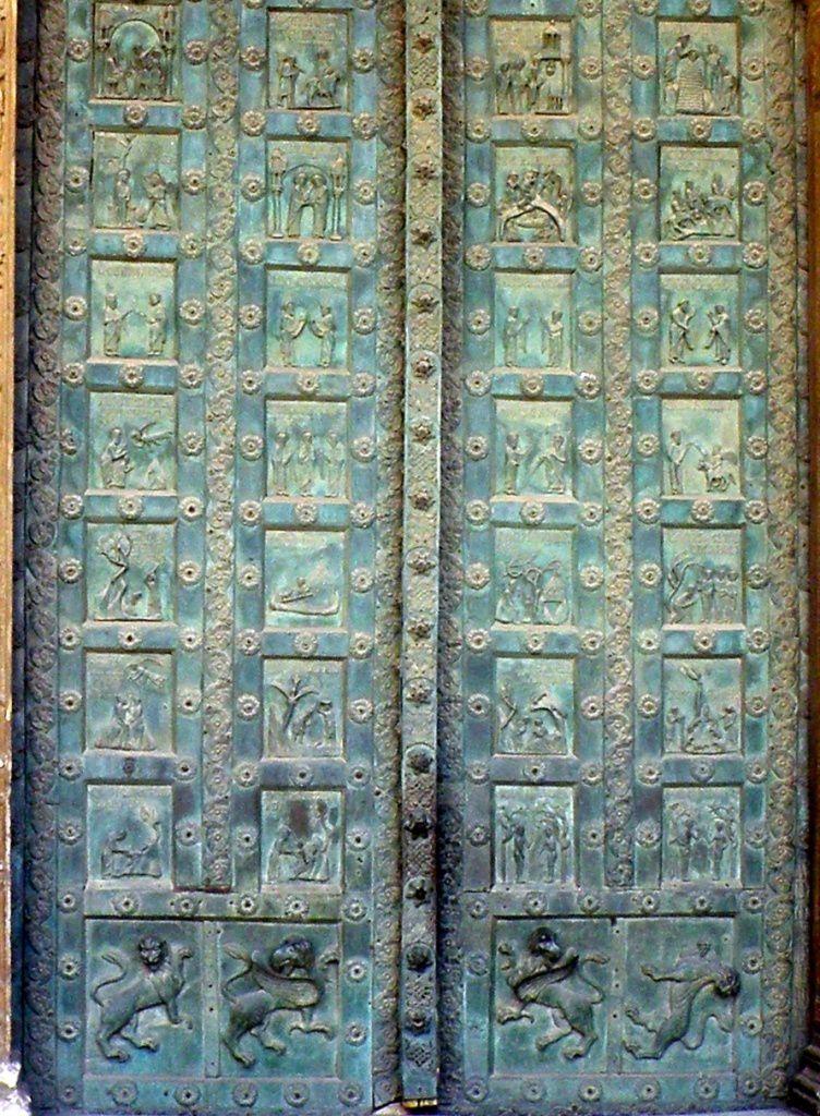 La Cathédrale de Monreale, les portes