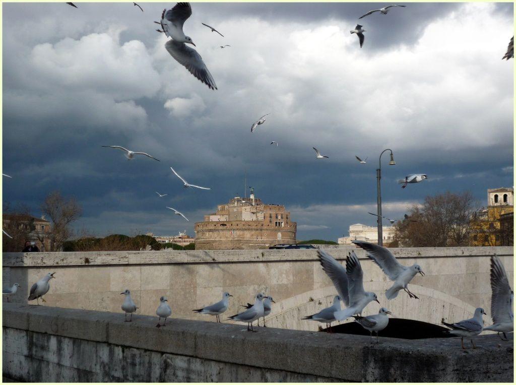 L'hiver à Rome
