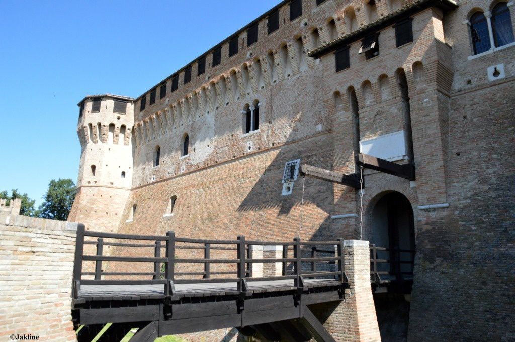 Le château de Gradara