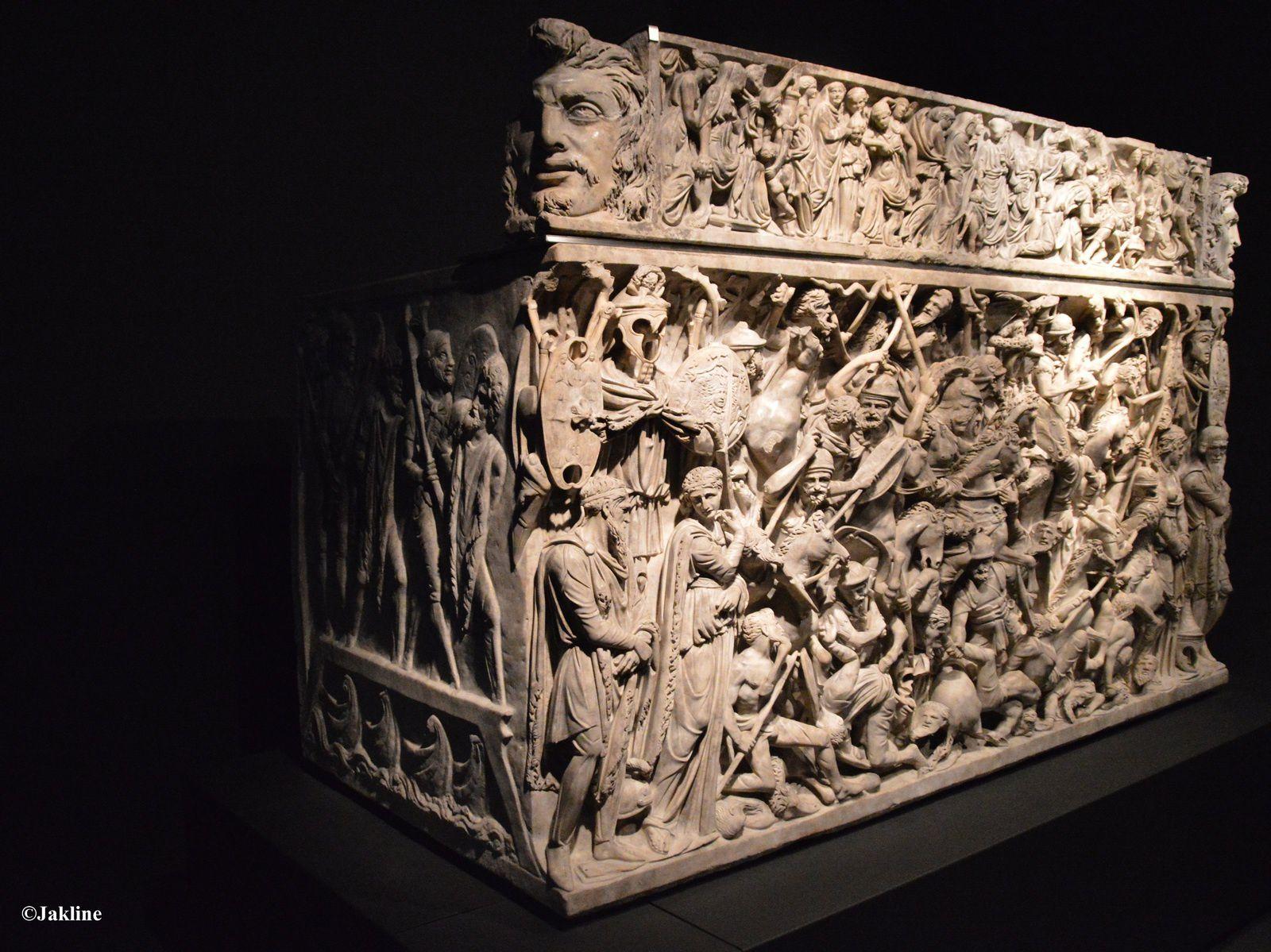 Un sarcophage de luxe!