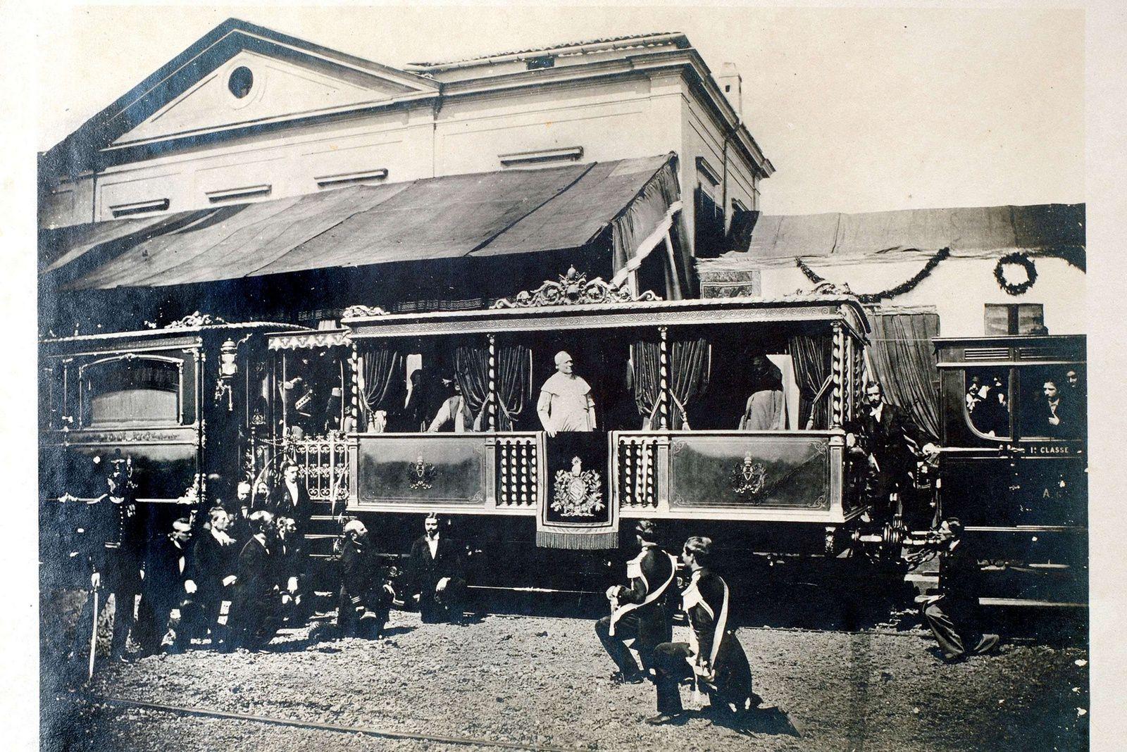 Le train du Pape
