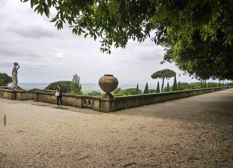 Castel Gandolfo bientot ouvert  au  public