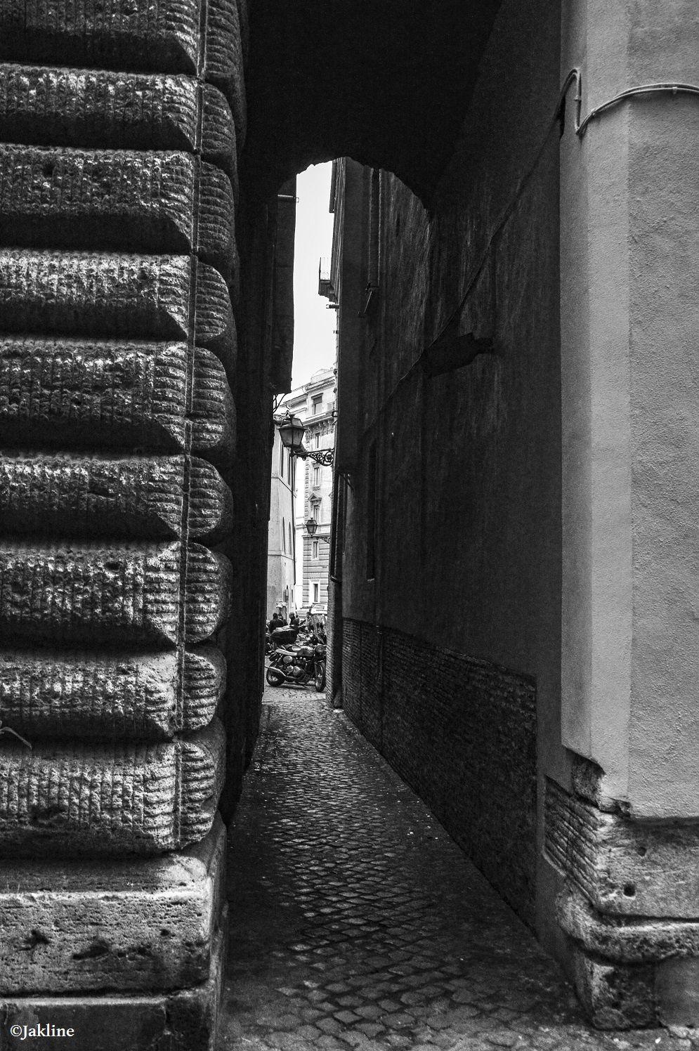 Rome et ses ruelles