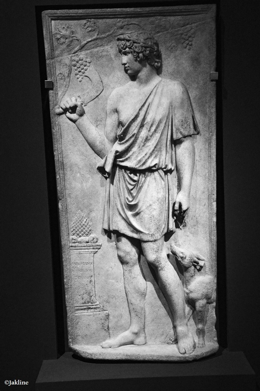 Antinoüs et son portrait