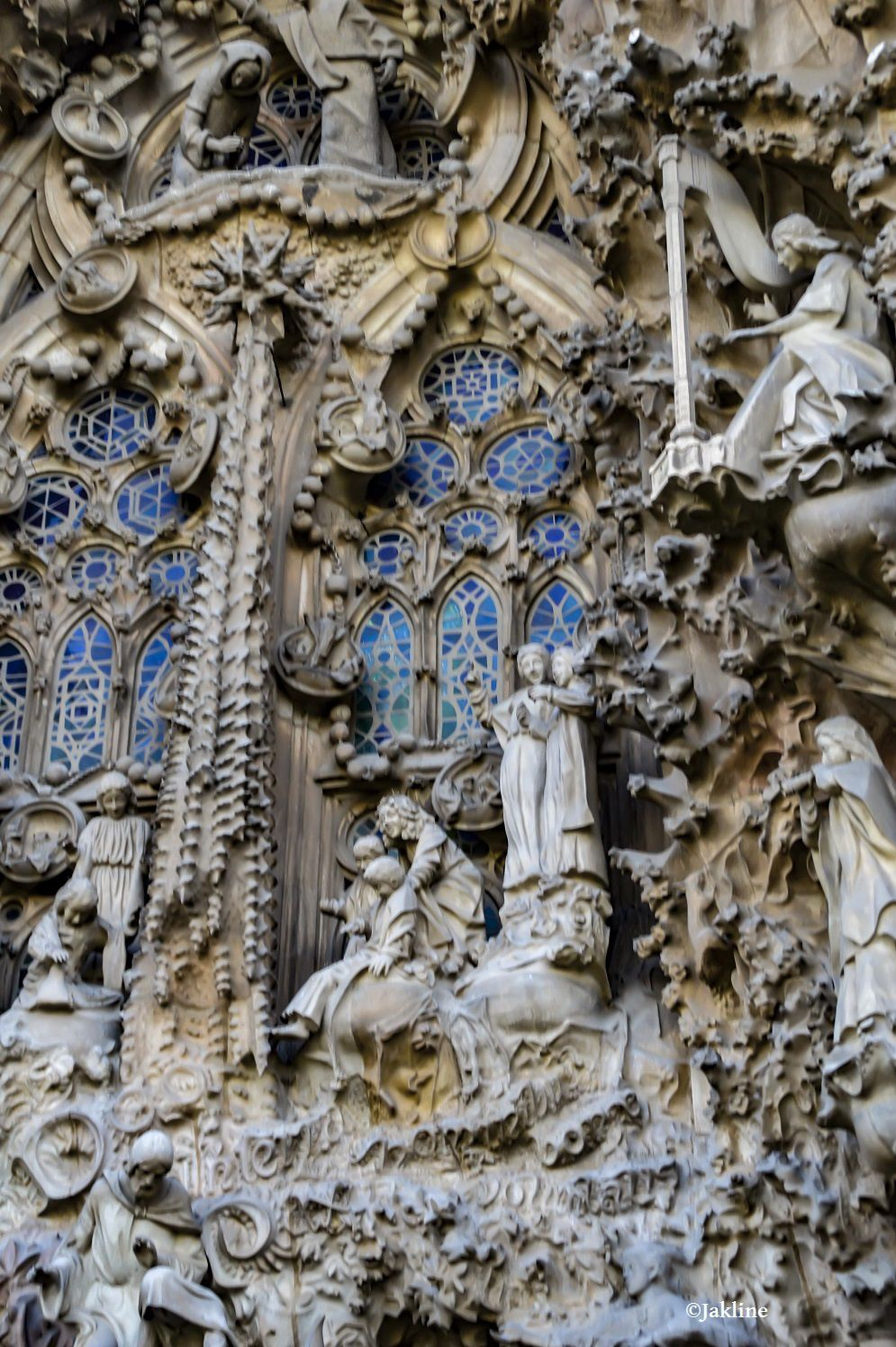 Le chantier de la Sagrada Familia