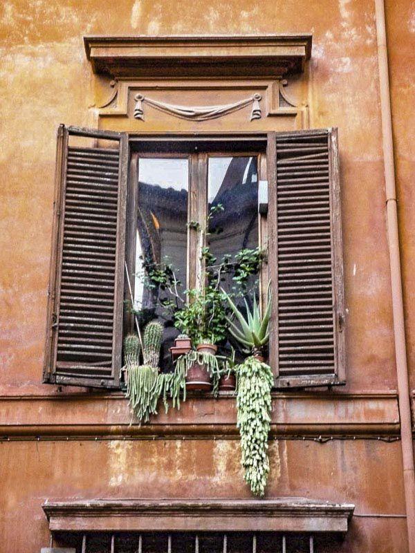 Les fenêtres de Rome