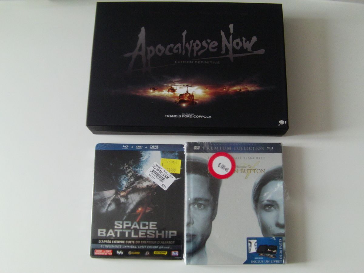 [Arrivages] Soldes Blu-ray