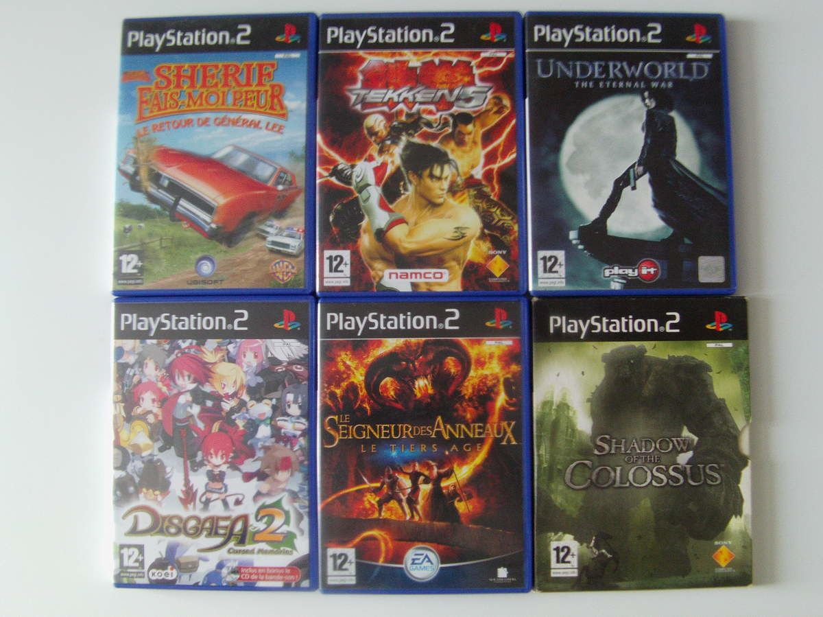 [Ma collection] Mes jeux PlayStation 2 Part 1
