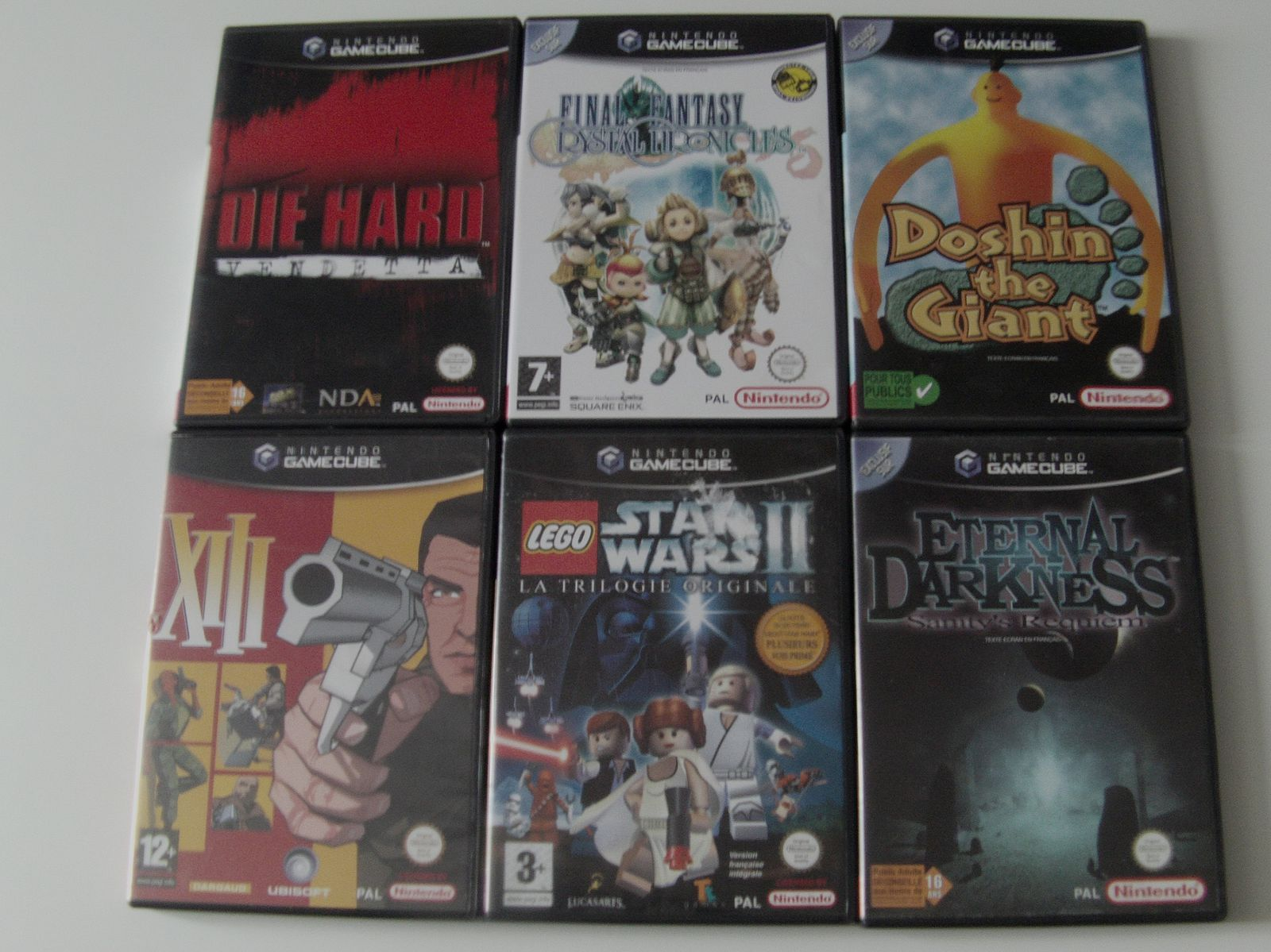 [Ma collection] Mes jeux Game Cube #1
