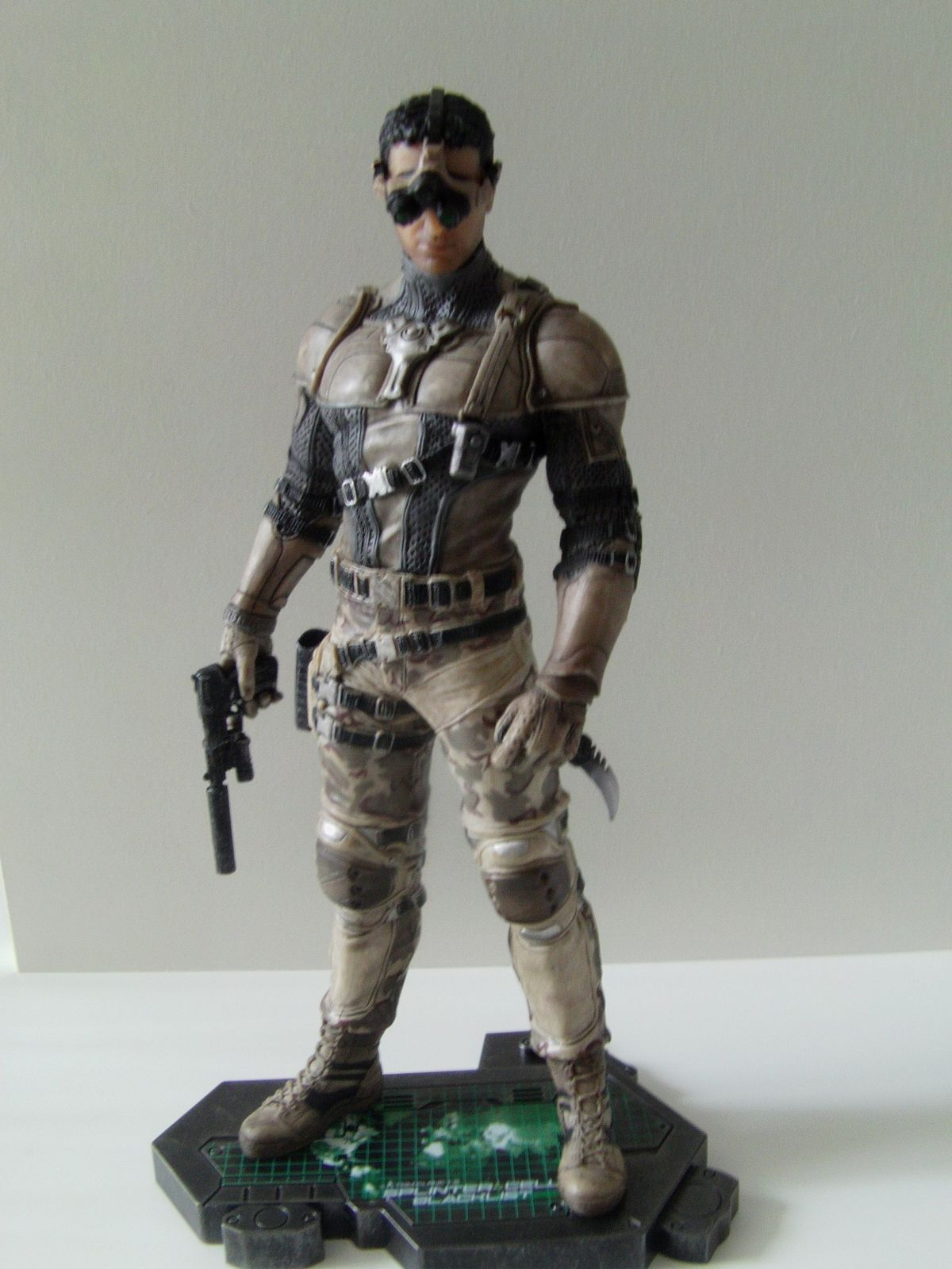 [Déballage] Figurine Splinter Cell Blacklist Sam Fisher Camouflage