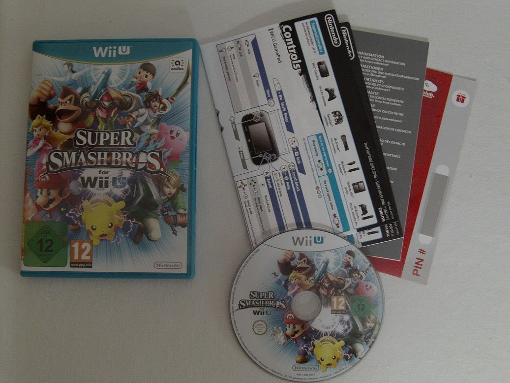 [Déballage] Super Smash Bros. for WiiU + Amiibo Mario