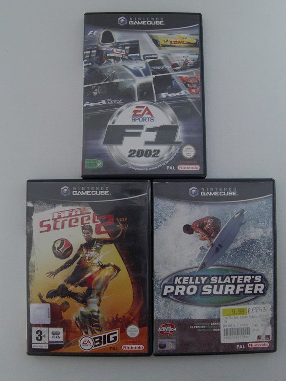 [Arrivage] Jeux Game Cube Pal