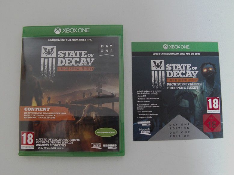 State of decay year one survival edition le blog de shacka for Lifeline interieur