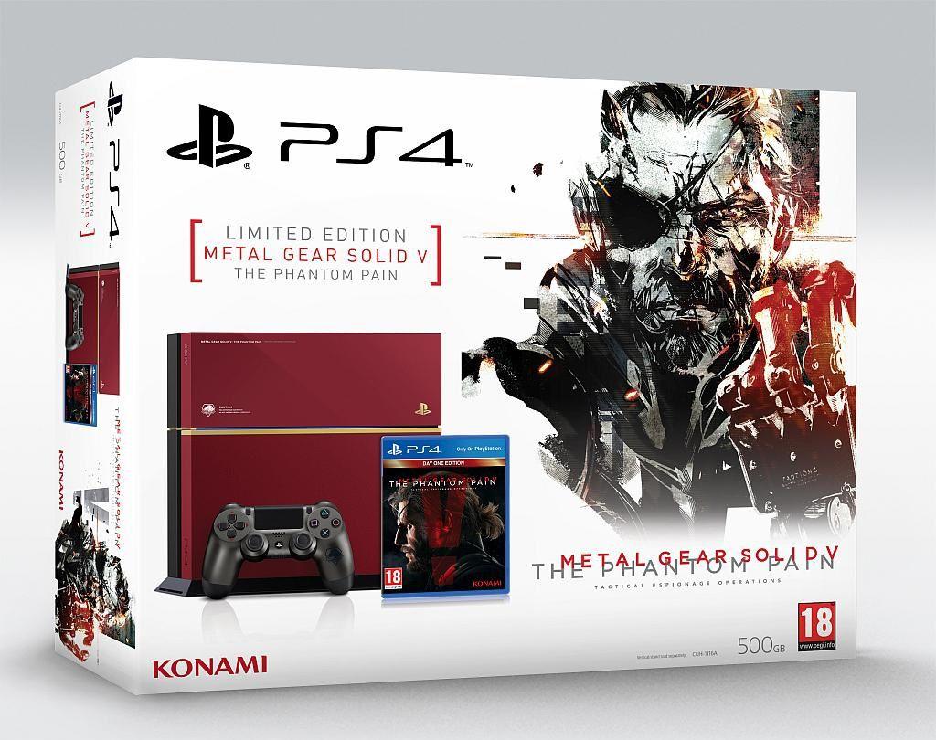 [News] Mise à jour Konami officialise la PS4 MGSV en France
