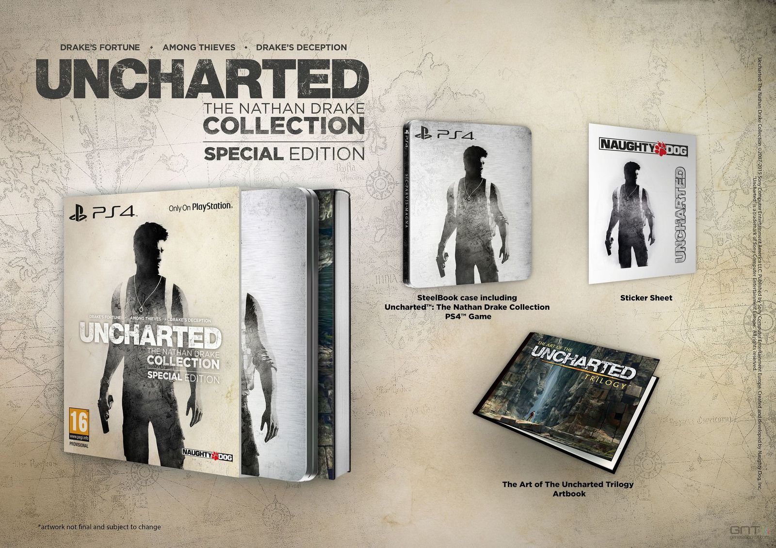 Uncharted : The Nathan Drake Collection - Edition Spéciale