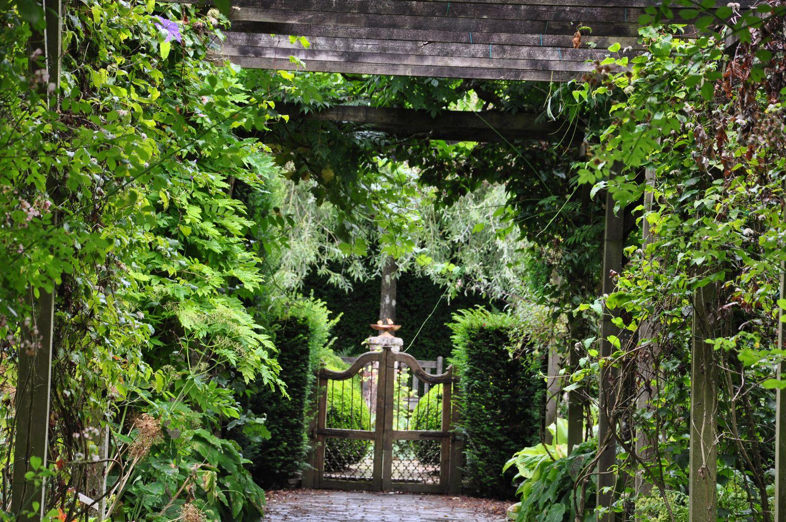 Les jardins de Castillon, comme un chef d'oeuvre d'artisan