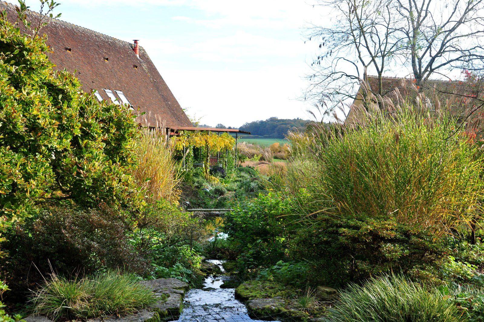 Comme des toiles d'automne, le jardin François