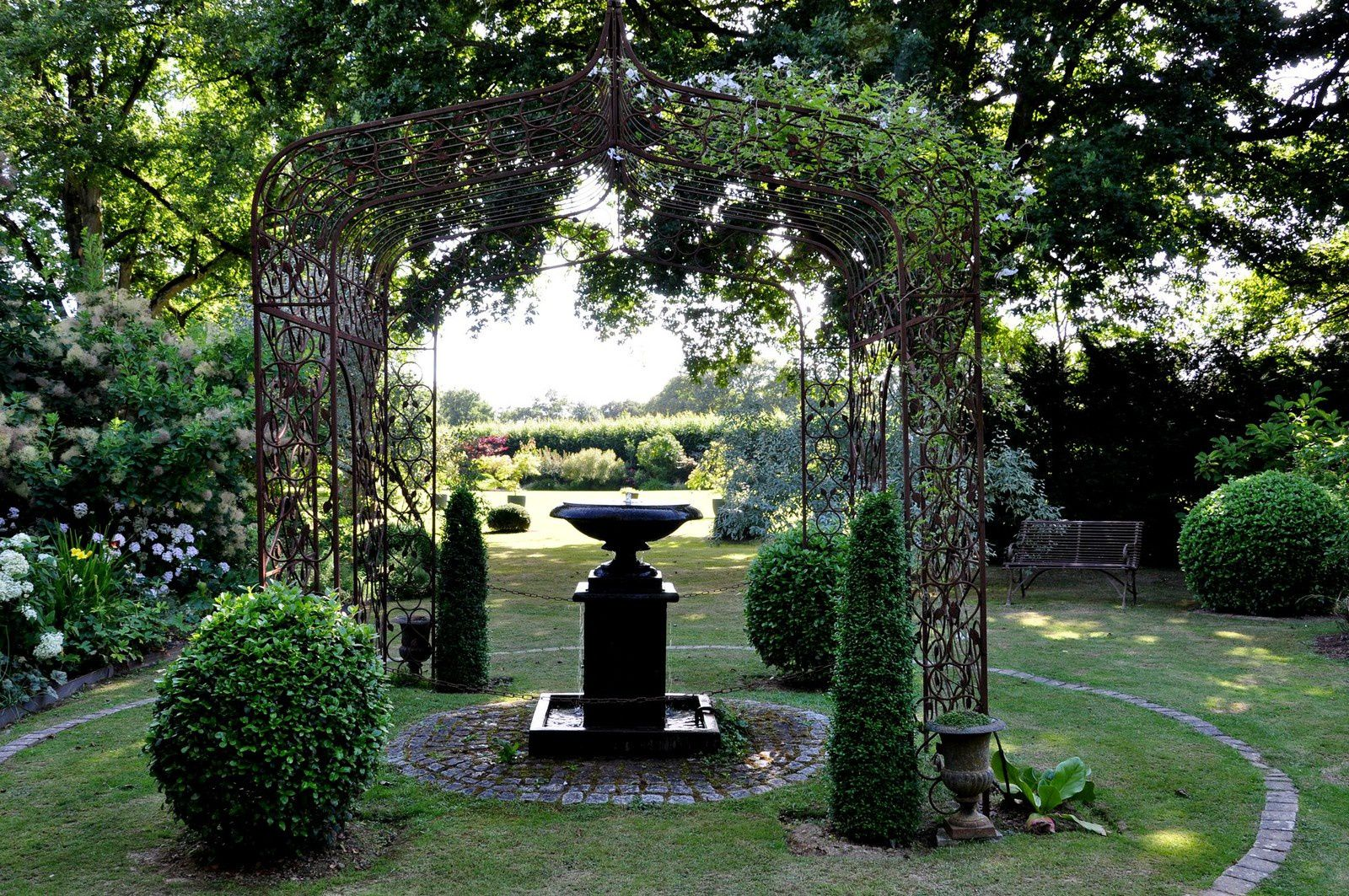 Le jardin de la Mansonière, un jardin de paysages intérieurs
