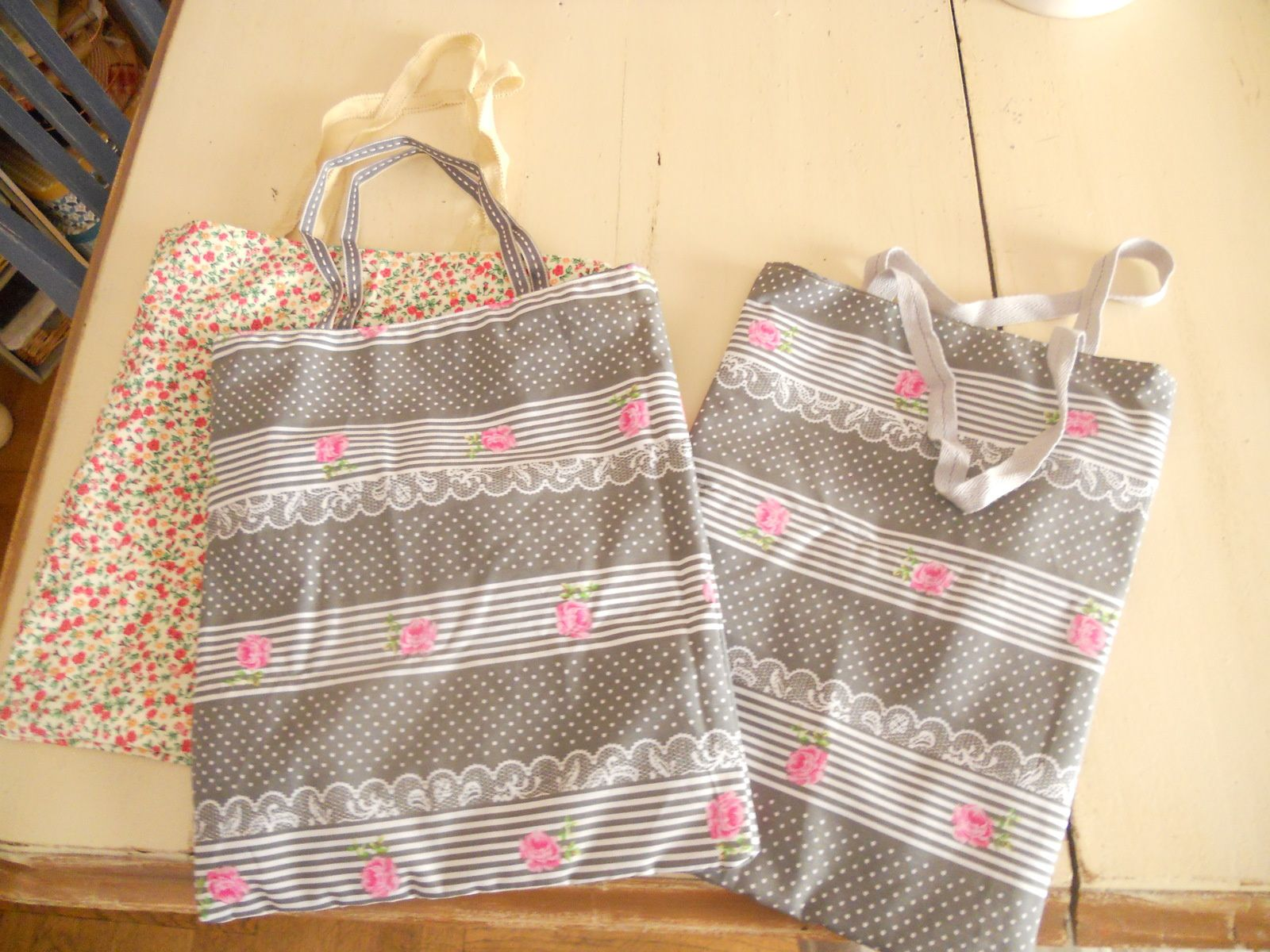 Collection de Tote Bag