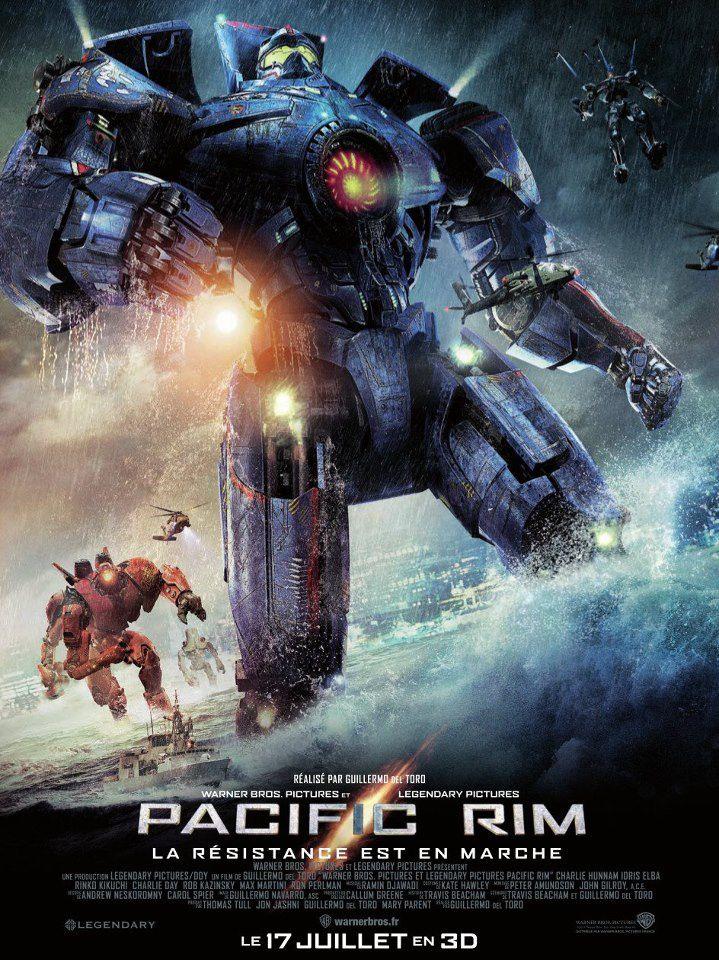 Ciné-Pacific Rim (Guillermo Del Toro-2013) ****