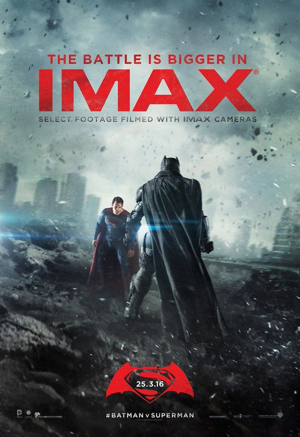 Batman V Superman_Affiche Imax