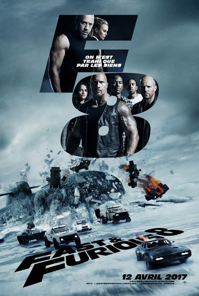 Fast and Furious 8_Affiche Fr Finale