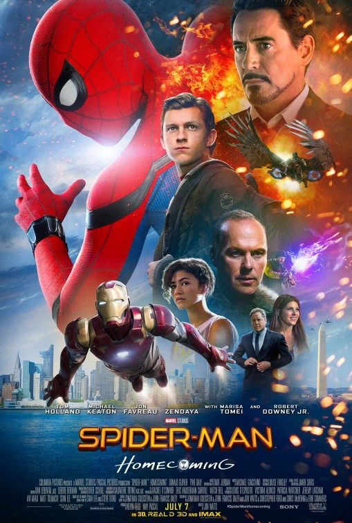 Spider Man Homecoming_Affiche 4