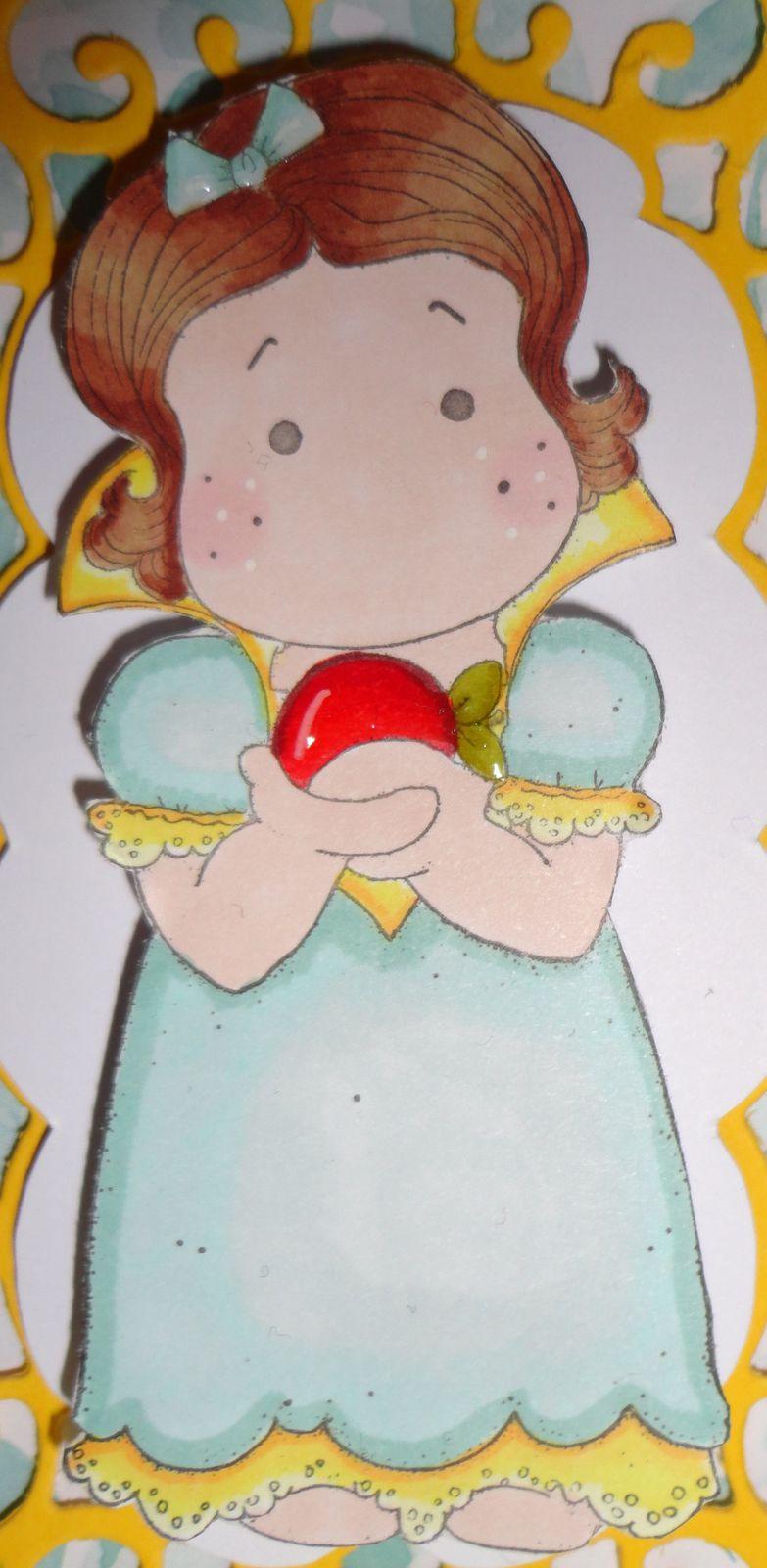 Carte Magnolia &quot&#x3B;Tilda et sa pomme&quot&#x3B;