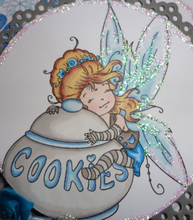 Carte TPS &quot&#x3B;The Fairy Of The Cookies&quot&#x3B;