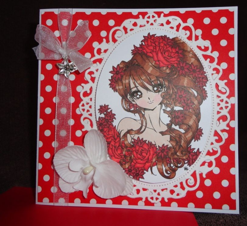 Carte Make it Crafty &quot&#x3B;Anastasia&quot&#x3B;