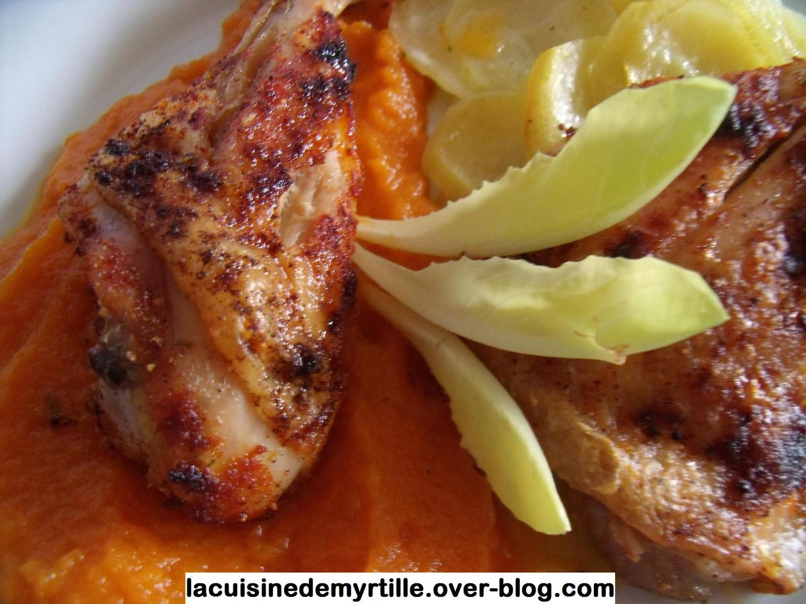 cuisses de poulet au four (très, très facile !)