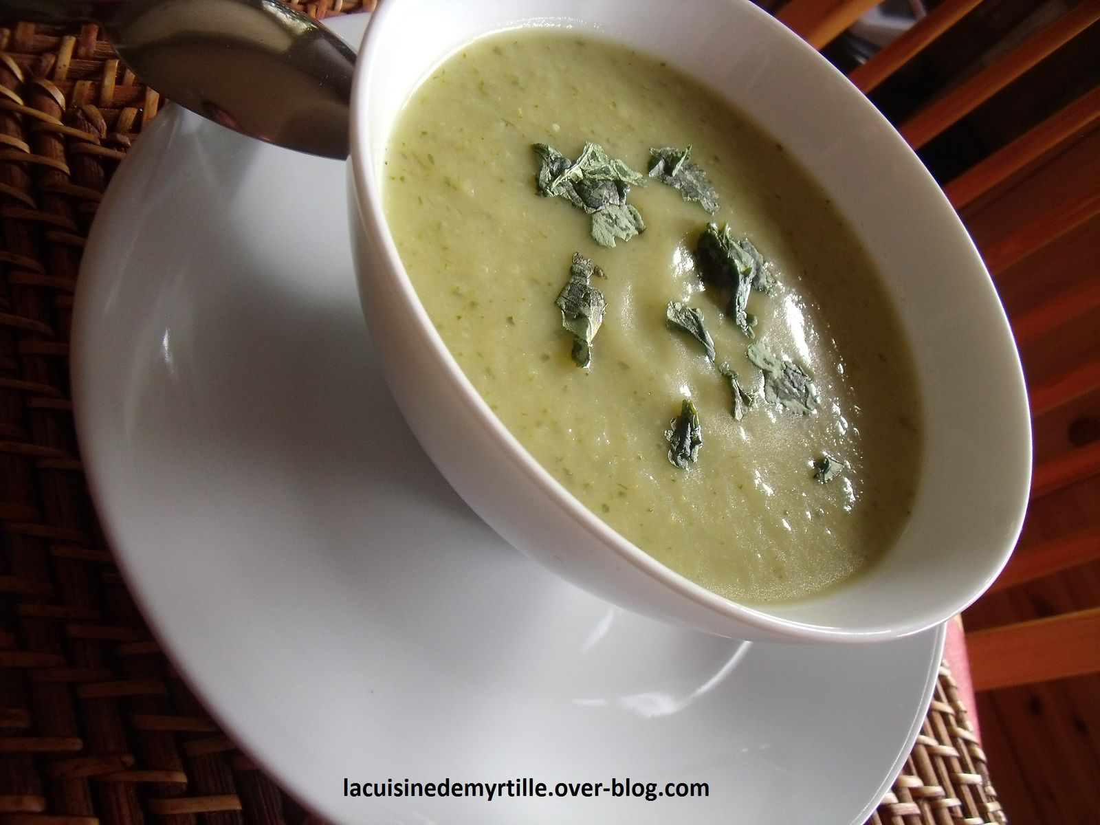 soupe fenouil courgettes pdt (ça nous change)