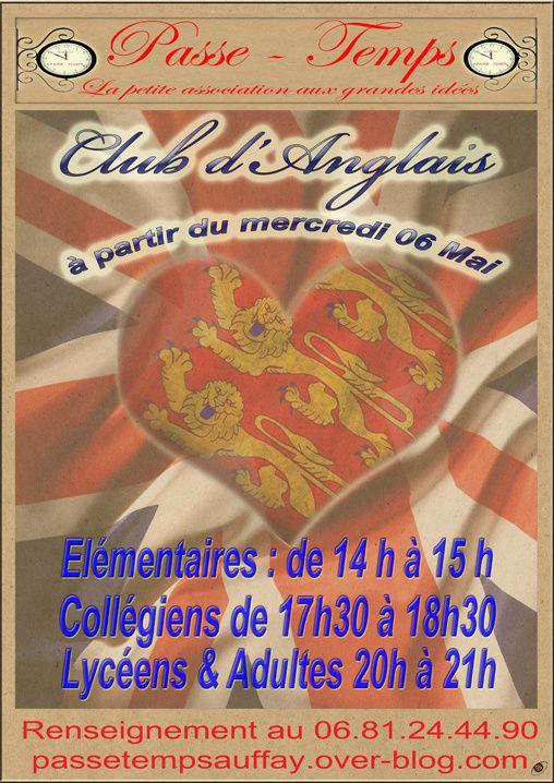 anglais / nouveau: club d'anglais